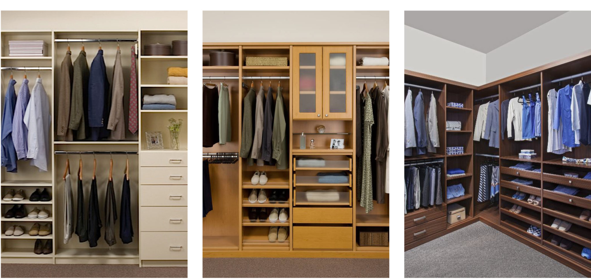 Closets By Design Can Design An Attractive Storage Space For Any Area Of  Your Home That Needs Organizing, From Custom Closets To The Garage And  Everywhere ...